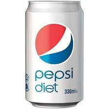 Diet Pepsi - 10 x 330ml cans
