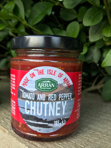 Tomato and Red Pepper Isle of Arran Chutney