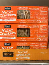 Load image into Gallery viewer, Olinias Bakehouse Wafer Crackers
