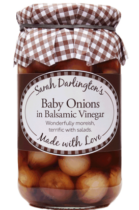 Mrs Darlington's  balsamic pickled baby onions