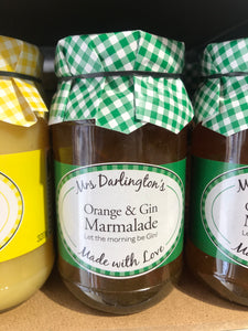 Mrs Darlington's Orange & Gin Marmalade