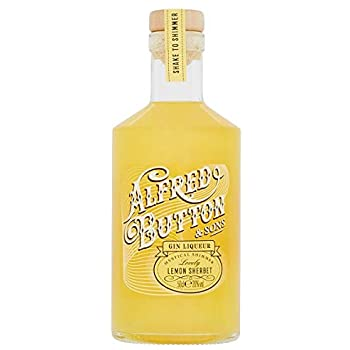 Alfred Button and Sons Gin Liqueur - Lovely Lemon and Sherbert 50cl