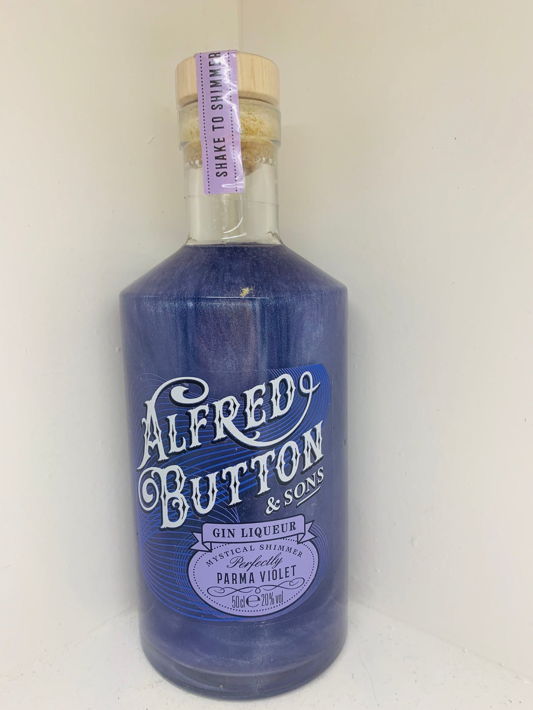 Alfred Button and Sons Gin Liqueur - Perfectly Parma Violet 50cl