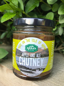 Apple and Ale Isle of Arran Chutney