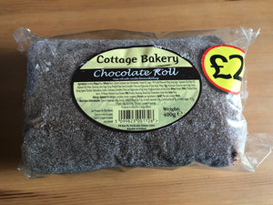 Cottage Bakery Chocolate Roll Cake 400g