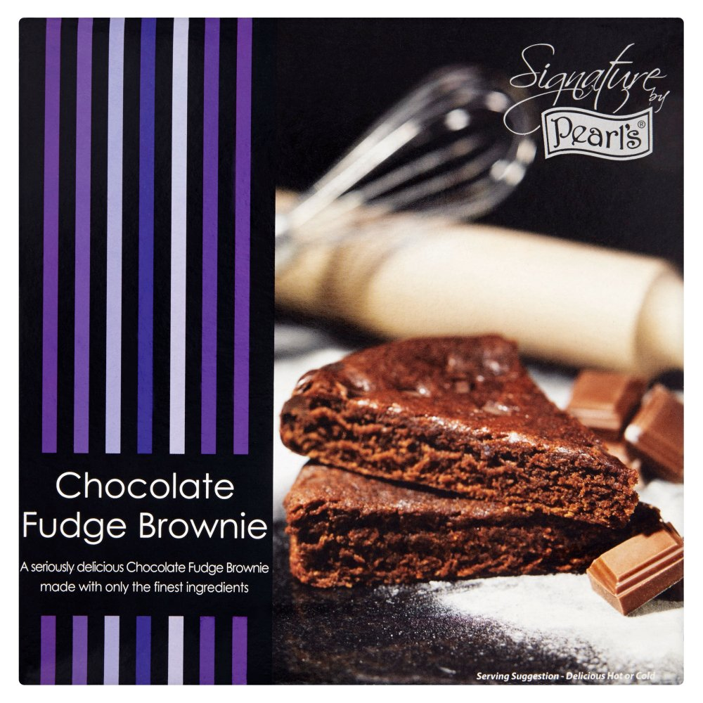 PEARL'S SIGNATURE CHOCOLATE FUDGE BROWNIE CAKE