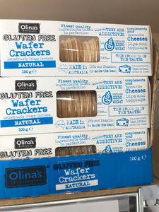 Olinias Bakehouse Wafer Crackers