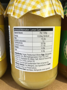 Copy of Mrs Darlington's Lemon Curd