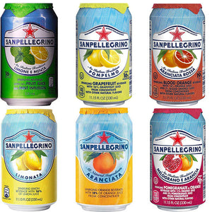 Sanpellegrino - Italian Sparkling Drinks - Craft Drink/Mixers -330ml - Assorted Flavours