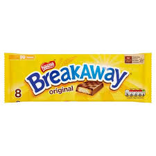 Clearance sale Breakaway Chocolate 8 pack