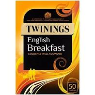 Twinnings -English Breakfast - 50 Tea Bags