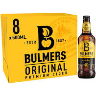 Off Licence - BULMERS ORIGINAL CIDER - 8 x 500ML
