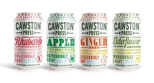 Cawston Press - Sparkling  Soft Drinks / Mixers 330 ml   Assorted Flavours