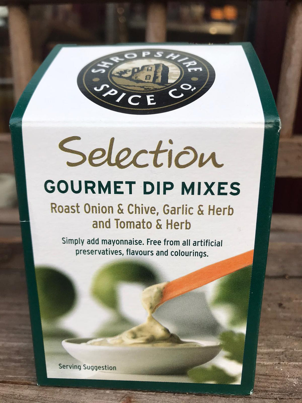 Christmas Food -Shropshire Spice Co - Selection Gourmet Dip Mixes