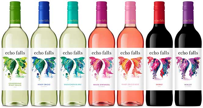 Off Licence - Echo Falls Wine 75cl