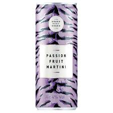 Off Licence - Shake Baby Shake Passion Fruit Martini can - 250ml