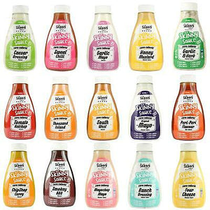 The Skinny Food Co -Zero Calorie Sugar Free Sauces- 425ml