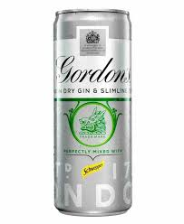 Off Licence - Gordon's  Gin & Tonic Ready To Drink Assorted Cans - 250ml