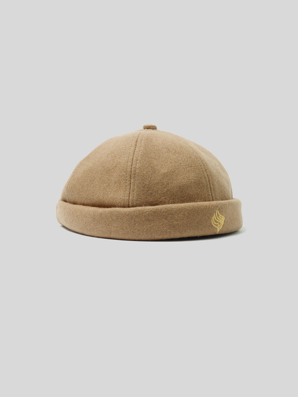 Brimless Virgin Wool Hat Lopi Caramel