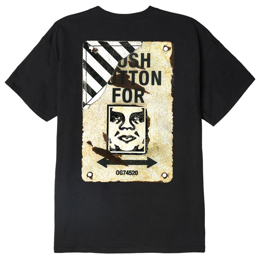 OBEY Crosswalk Sign T-Shirt