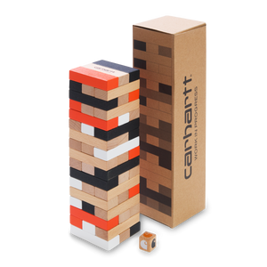 Carhartt WIP Stacking Blocks Game