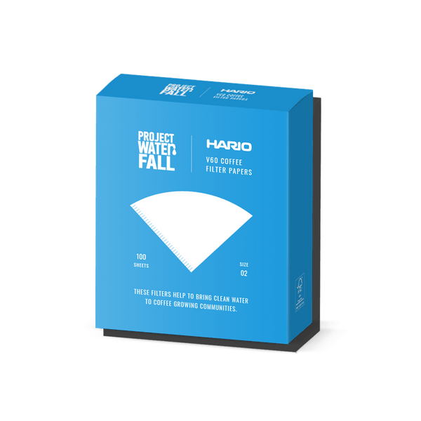 Hario X Project Waterfall V60 Filter Papers
