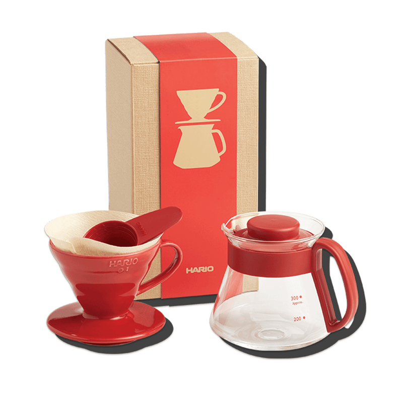 Hario V60 Ceramic Pour Over Set