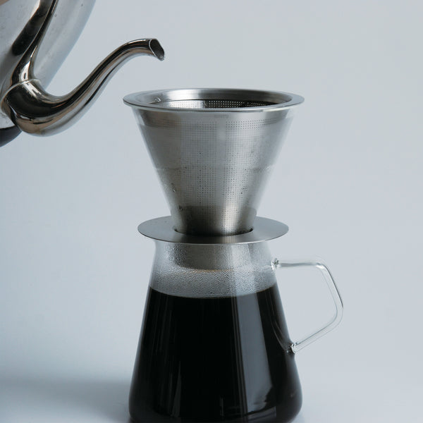Kinto Carat Coffee Dripper & Pot