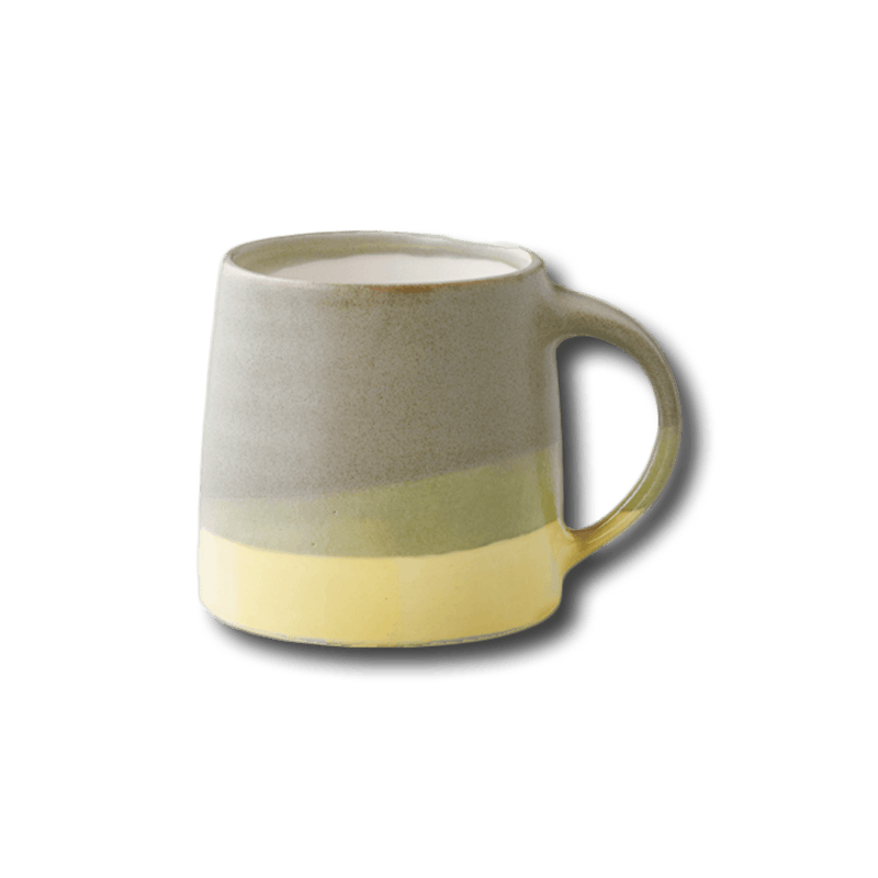 KINTO SCS-S03 MUG 11.5OZ MOSS GREEN X YELLOW