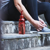 KINTO WORK OUT BOTTLE 480ML RED