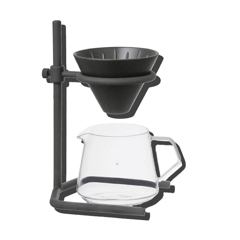 KINTO BREWER IRON STAND SET 2 CUPS