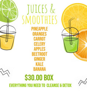 Juice & Smoothie Box subscription