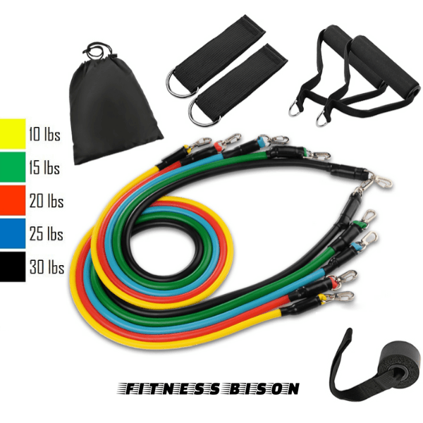 ULTIMATE RESISTANCE BANDS™ - Fitness Bison