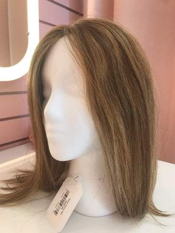 Human Hair Topper Swiss