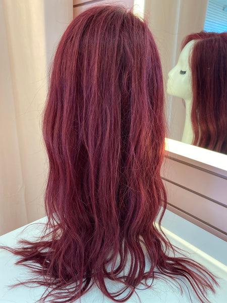 Human Hair Vixen Burgundy