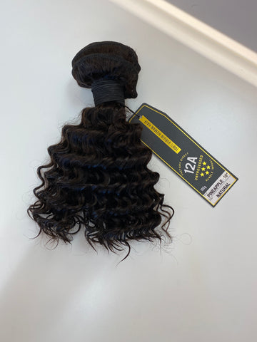 Pineapple Virgin Human Hair Bundle 10""
