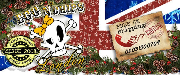 Egg n Chips Christmas Banner