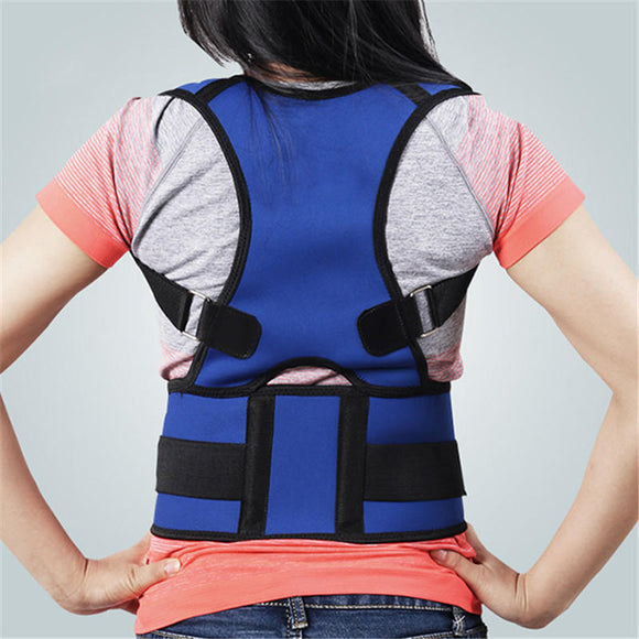 Posture Corrector Back Brace Adjustable Comfy Support