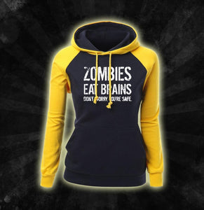 Zombies Eat Brains Hoodie