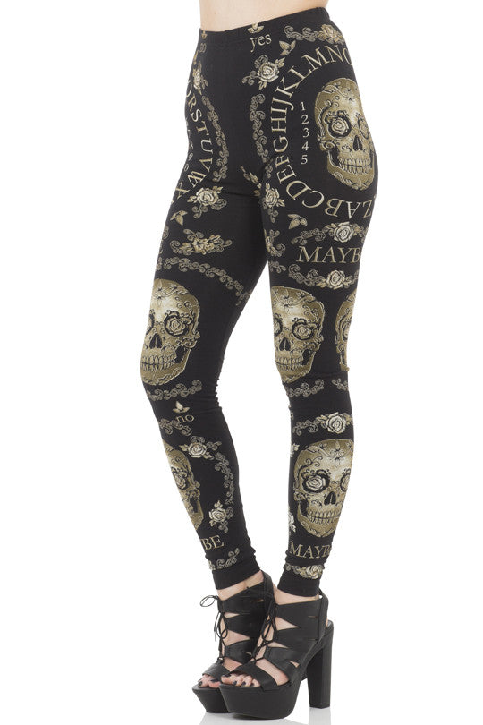 Jawbreaker Clothing - The Dark Seer Leggings - Egg n Chips London