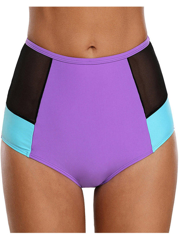 High Waist Beach Mesh Swimwear Panty
