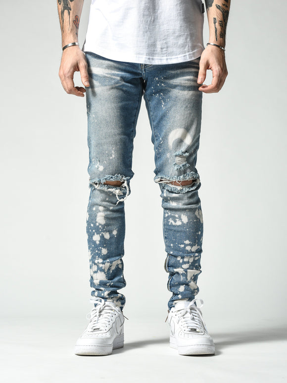 Moon Bleached Jeans 4828