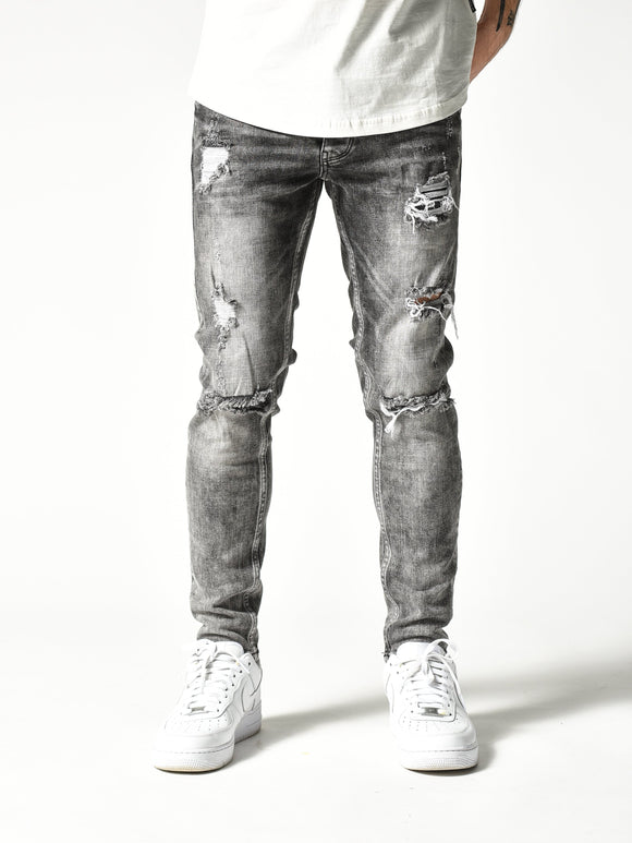 Stonewashed Monster Jeans 4844