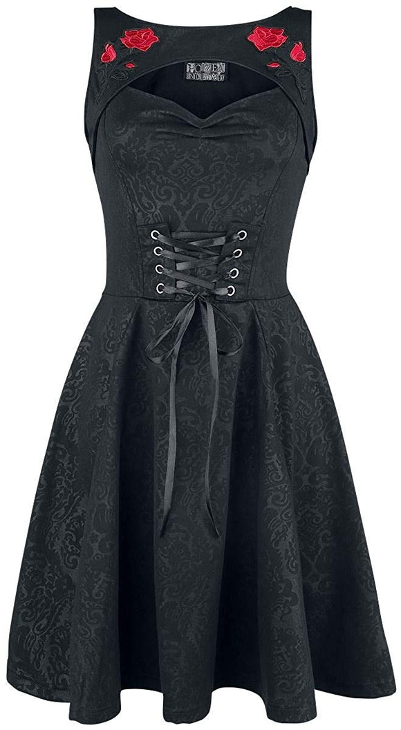 Poizen Industries - Adina Black Gothic Dress