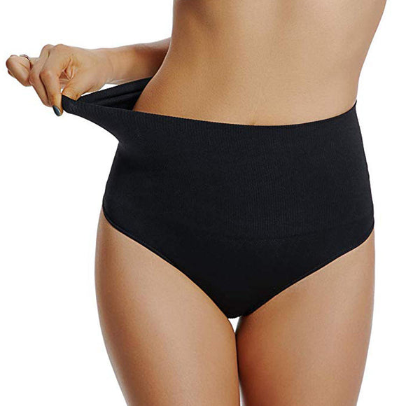 Mid Waist Tummy Control Shaping Panties
