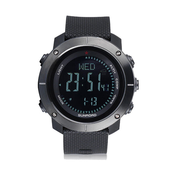 SUNROAD CARBINE 5ATM Waterproof Smart Bracelet Sports Smart Watch