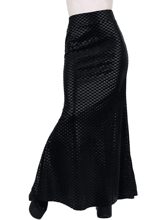 Killstar - Women's Lizard Scales Skirt
