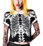 Killstar - Black Wishbone T-Shirt