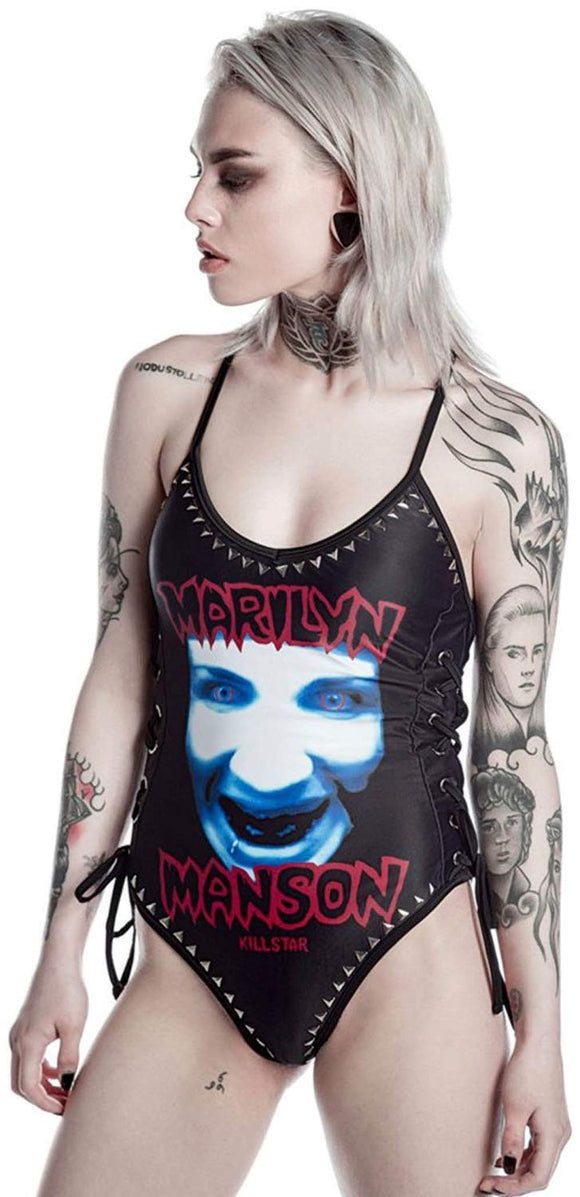 Killstar - Marilyn Manson One Piece Swimsuit