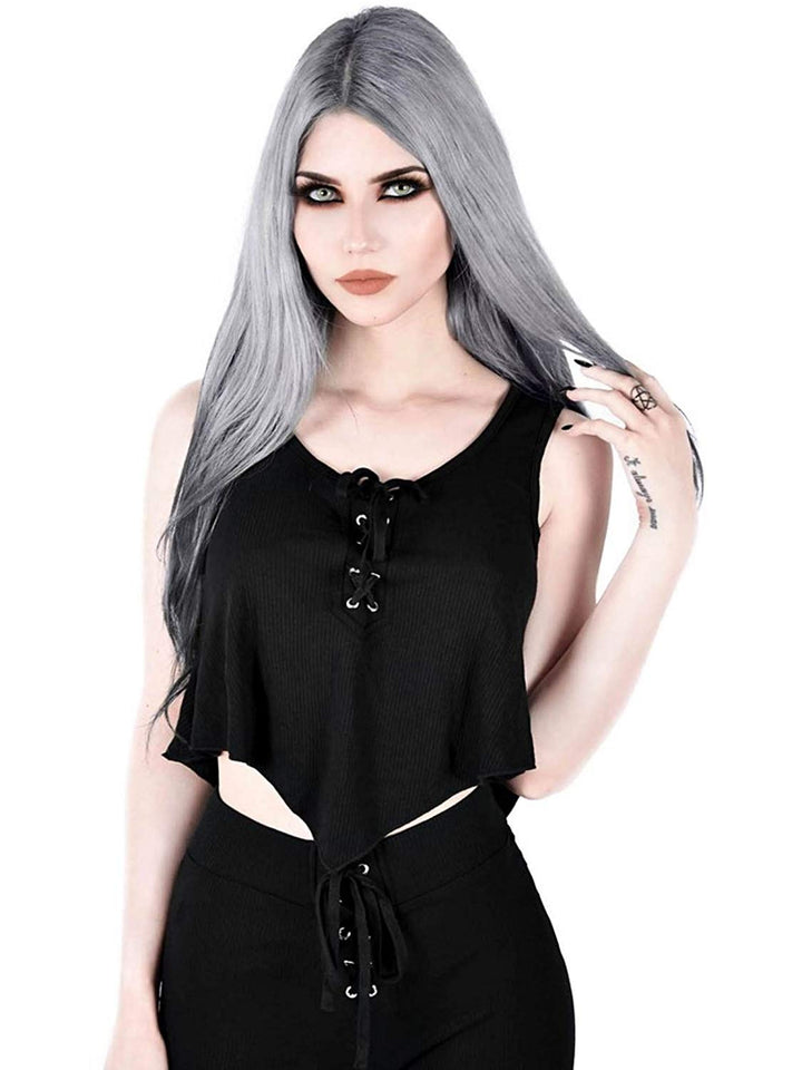 Killstar Sleeveless Vest Top